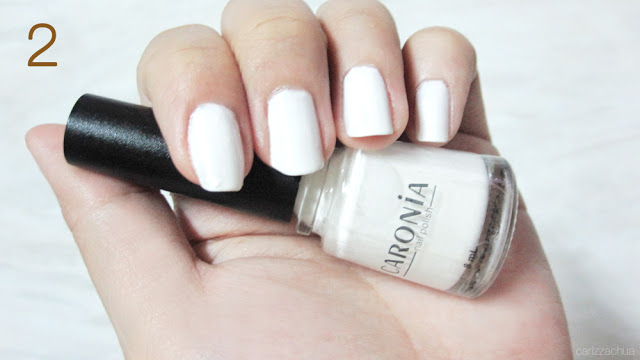 Next Apply A White Satin Nail Polish On Your Nails As Base This Would Make The Swirls Appear Brighter
