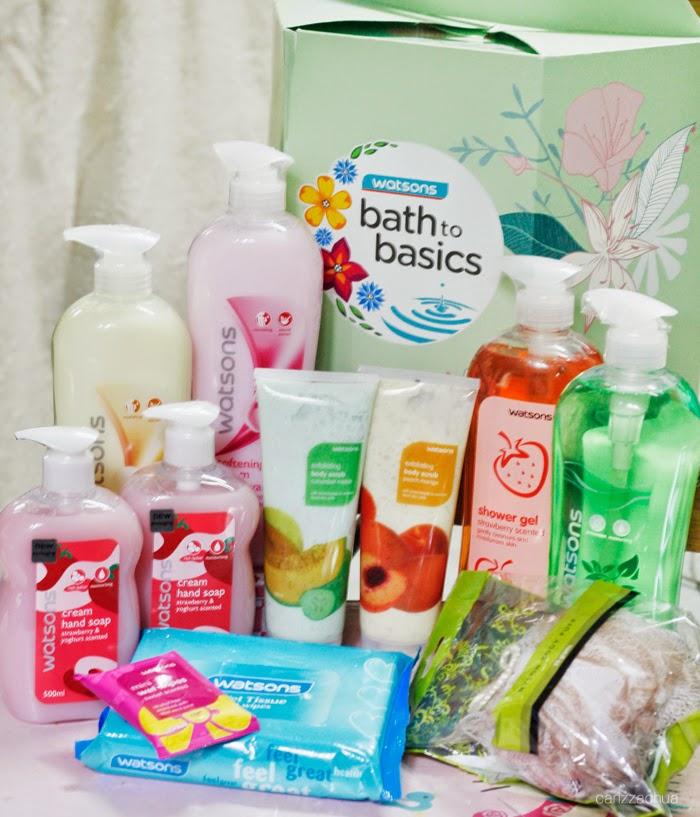 Bath To Basics With Watsons!